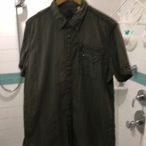 Guess olive green cargo tee